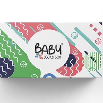 Presentbox till baby sockor