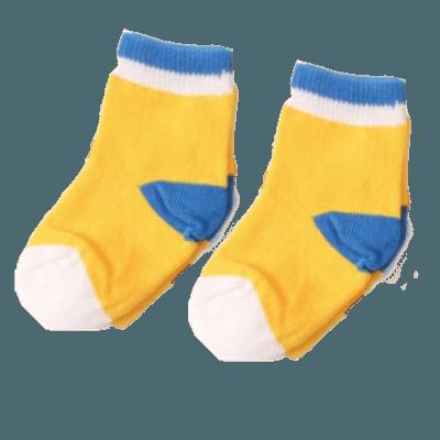 Sverige babysockor gula