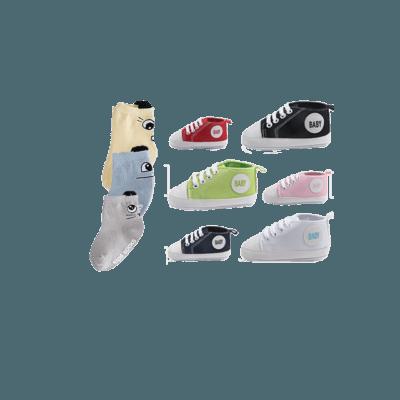 Filur babysockor baby sockor paket med babyskor