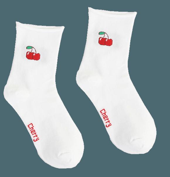 babysockor tuttifrutti cherry