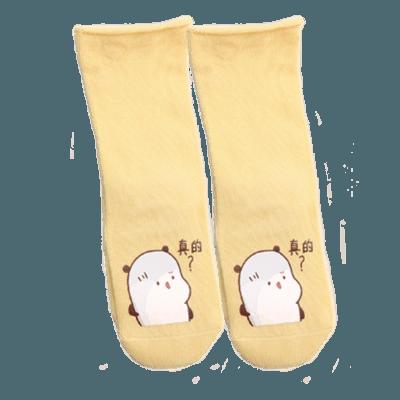 Spöksocken babysockor i olika storlekar