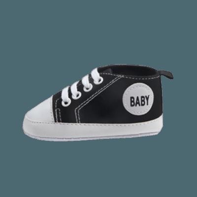 Svarta babyskor